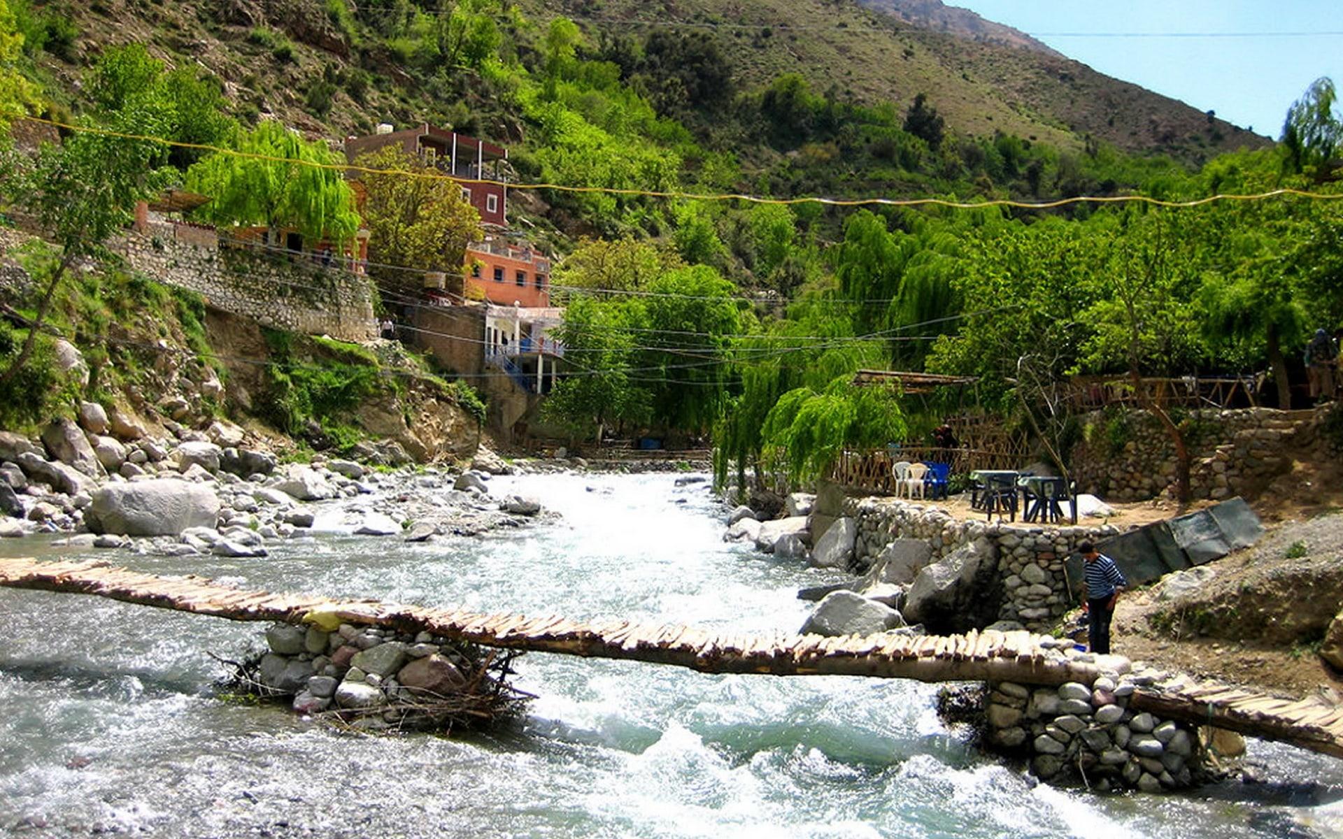 Active Treks Morocco - Ourika Waterfalls Day Trip