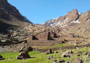 Berber Villages And Toubkal