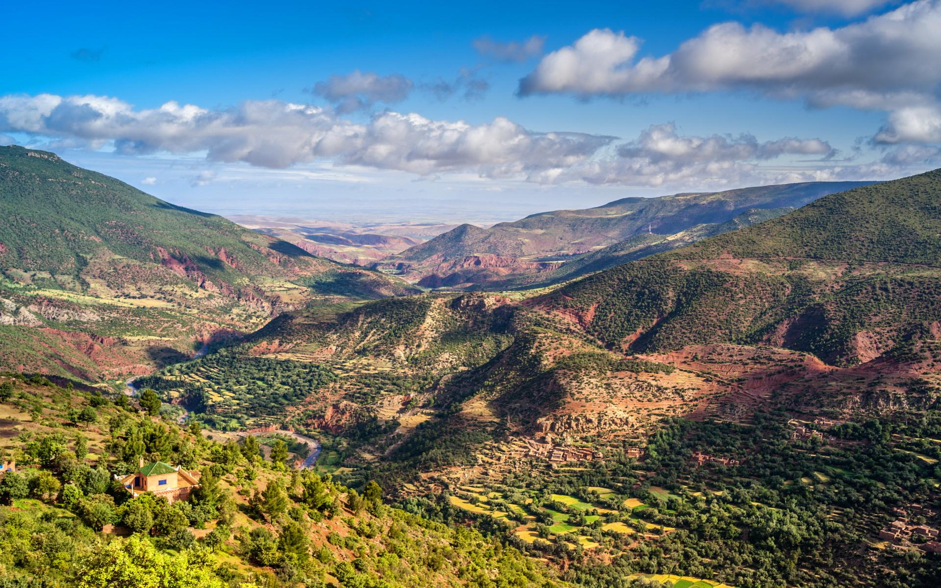 Active Treks Morocco - Ourika to Imlil trek