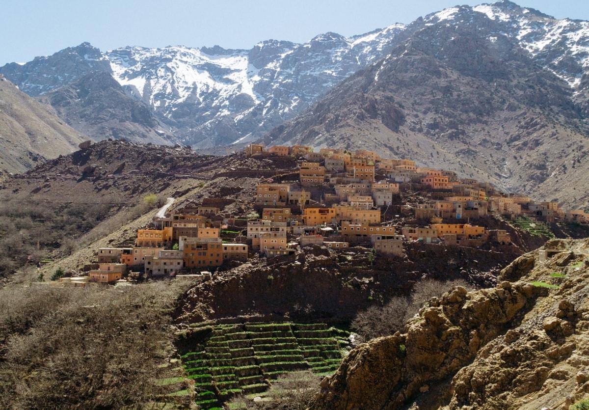 Active Treks Morocco - Toubkal group ascend