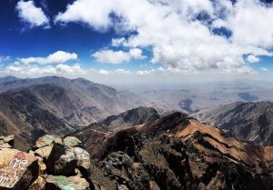 Toubkal And Ouankrim Peaks
